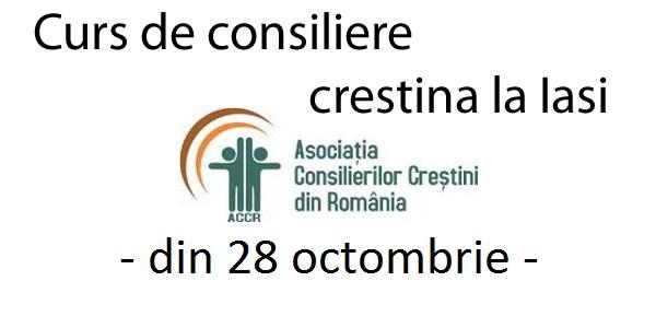 Curs de consiliere creștină la Iași