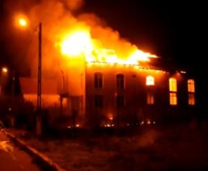 """A ars clădirea Bisericii Penticostale """"Speranța"""" din Mangalia (video)"""