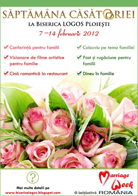 Săptămâna căsătoriei la Ploiești