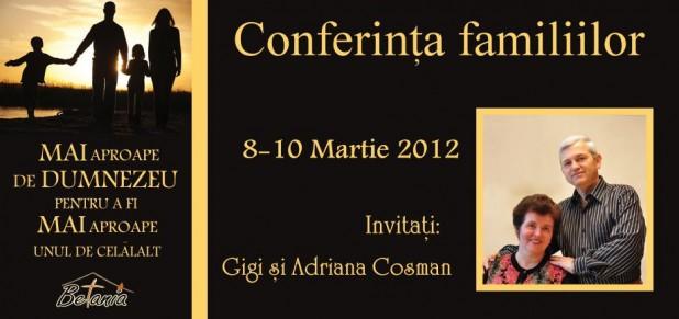 Conferința familiilor la Dublin, Irlanda